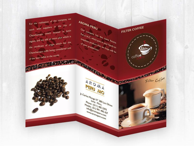 Brochure COFFEE SCENT