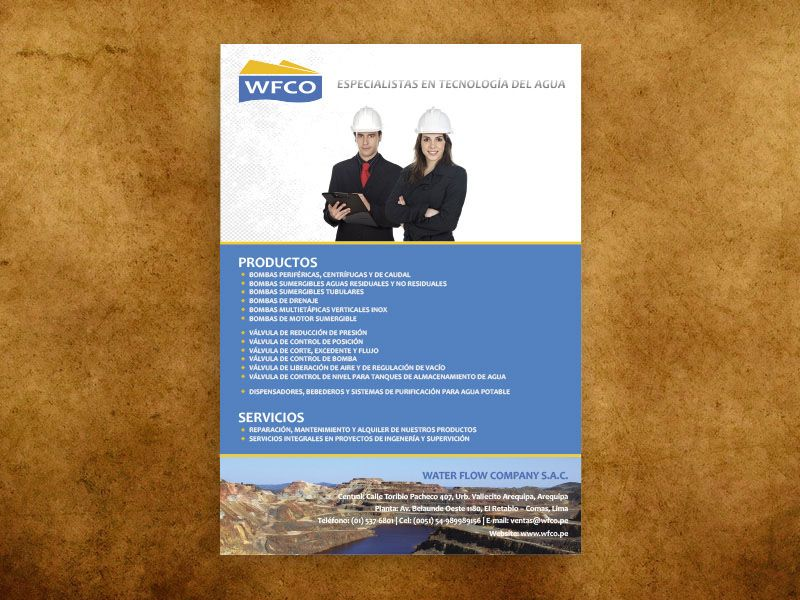 Brochure WATER FLOW COMPANY