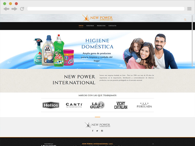 NEW POWER INTERNATIONAL